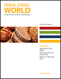 Nov. 2017 – Cereal Side-Streams As Alternative Protein Sources Article In Cereals Food World