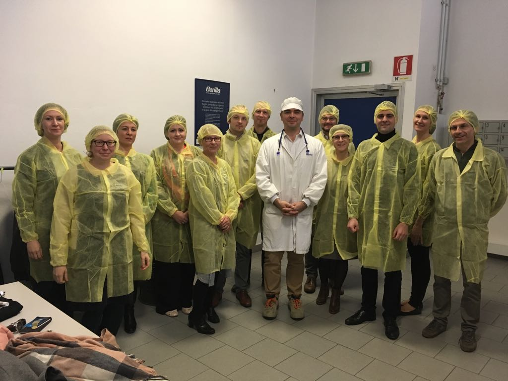 Nov 2017 – Project Meeting At Barilla In Parma